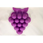 Jello Jiggler Mold Purple Grape Happy Faces