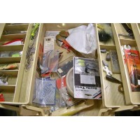 Fishing tackle box Plano 6 trays
