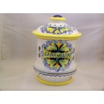 Chino Fine Quality Ceramic Cookie Biscuit Jar Hand Painted