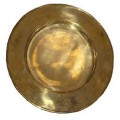 Vintage Brass Charger Chop Under-plates Plates