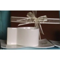 Verdici White Ceramic Cups Saucers Elby Gift