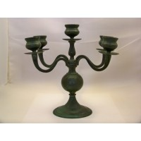 picture-cast-iron-candlestick-candle-holders-verdigris-3