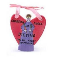 Guardian Angel Plaque Our Name is Mud Dieting