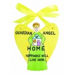 Guardian Angel Plaque Our Name is Mud Home