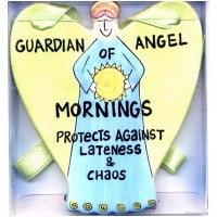 Guardian Angel Plaque Our Name is Mud Mornings