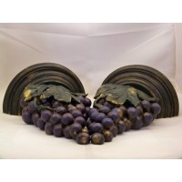 picture-pair-wall-brackets-appliques-bunches-of-grapes-2