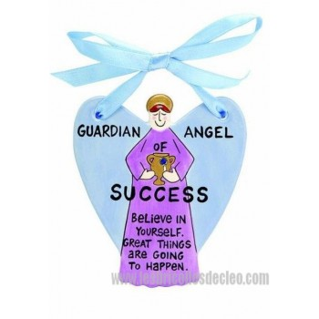 Guardian Angel Plaque Our Name is Mud Success