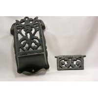 Wall Cast Iron Match Box Holder