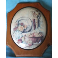 picture-Oval-Wall-Plaques-Wood-Raised-Center-2