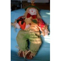 Scarecrow Doll Porch Door Hanger Chair Sitter