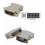 DVI Male To VGA Female Adapter HDD15Pin RGB15Pin (2)