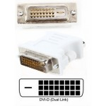 DVI male adapter DVI - D 24 1 to female VGA 15-pin