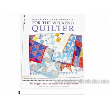Quick and Easy Projects for the Weekend Quilter Book EN