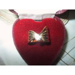 50 pts Diamond Ring Gold Ribbon Shape Ladies
