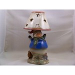 Candlestick Candle Holder Lamp Snowman
