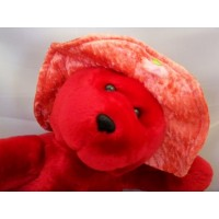 image-ourson-peluche-rouge-animal-rembourré-10-3