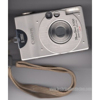 Canon PowerShot S100 Digital Camera 2MP