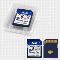 Carte Mémoire Secure Digital Caméra 8GB SD Flash
