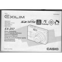 Casio Exilim Zoom EX-Z57 5.0MP Digital Camera Silver
