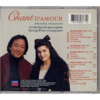 CD Cecillia Bartoli Chant d'Amour