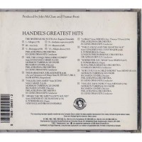Handel Greatest-Hits Classique CD