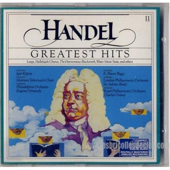 Handel Greatest Hits CD Classic