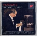 Horowitz Discovered Treasures CD