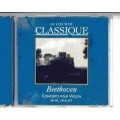 CD Beethoven Classical Concerto pour Violon