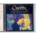 Chopin CD Greatest Hits Polonaise Minute Waltz