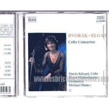 Dvorak Elgar Classical CD Cello Concertos