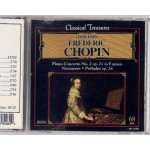 CD Classical Treasures 1810-1849 Frederic Chopin