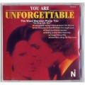 Nat King Cole Hits CD You are Unforgettable