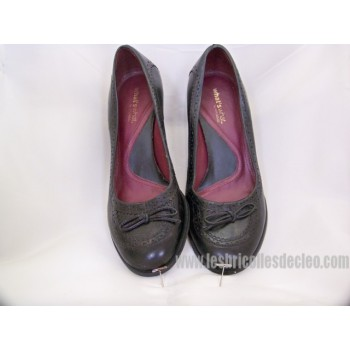 Black Women Shoes Pumps Ladies Medium Heel