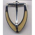 Belt Buckle Silver Brass Costumes C-4826-2