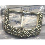 Belt Buckle Gold Finish Brass Medieval Costumes C-55167